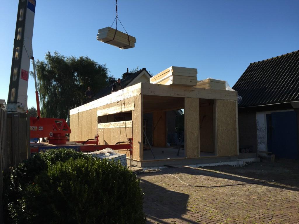 Uitbouw zuidland